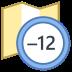 Timezone +12 icon