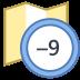 Timezone +9 icon