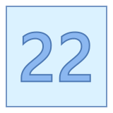 22 icon