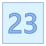 23 icon