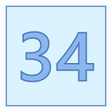 34 icon