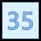 35 icon