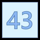43 icon