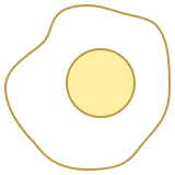 sunny side-up-eggs icon