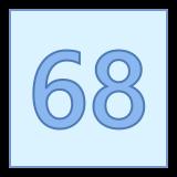 68 icon