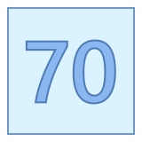 70 icon