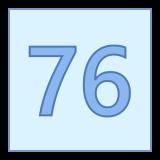 76 icon