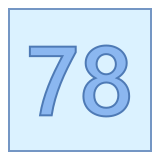 78 icon