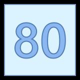 80 icon