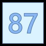 87 icon