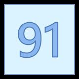91 icon