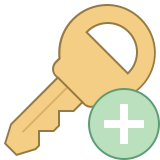 Add Key icon
