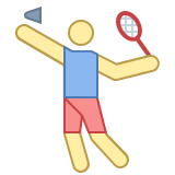 Badminton Player icon