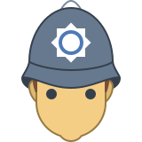 British Police Officer icon