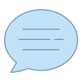 Chat Message icon