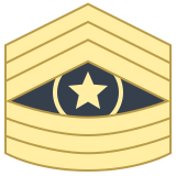 Command Sergeant Major CSM icon