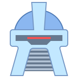 Cylon Head New icon