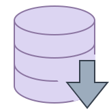 Esportazione database icon