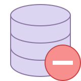 Rimuovi Database icon
