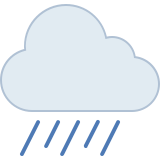 Rainfall icon