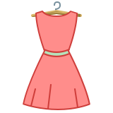 Dress Back View icon