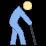 elderly person icon