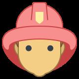 Feuerwehrmann-männlich icon