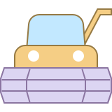 Erntemaschine icon