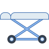 Hospital Wheel Bed icon