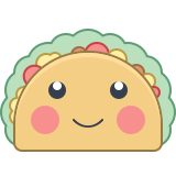 Kawaii Taco icon