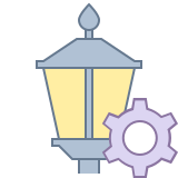Lamp Post Settings icon