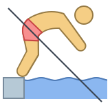 No Diving icon
