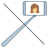No Selfie Stick icon
