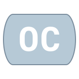 Opened Captioning icon