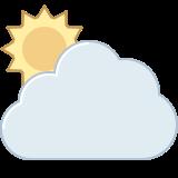 Día parcialmente nublado icon