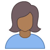Person Female Skin Type 6 icon