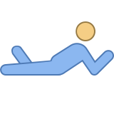 Person Laying Down icon