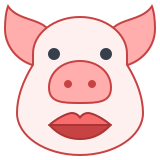 Pig With Lipstick icon