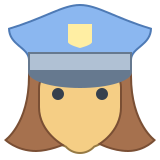 Policeman Female icon