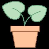 Vaso de planta icon
