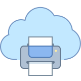 Print from Cloud icon