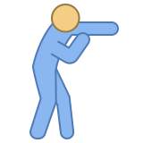 Punching icon