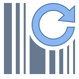 Refresh Barcode icon