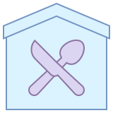 Restaurant Building icon