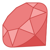 Programmiersprache Ruby icon