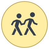 Crosswalk icon