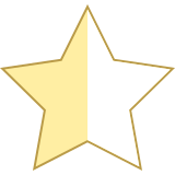 Star Half Empty icon