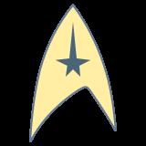 Símbolo de Star Trek icon