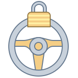 Steering Lock Warning icon