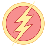 The Flash Sign icon